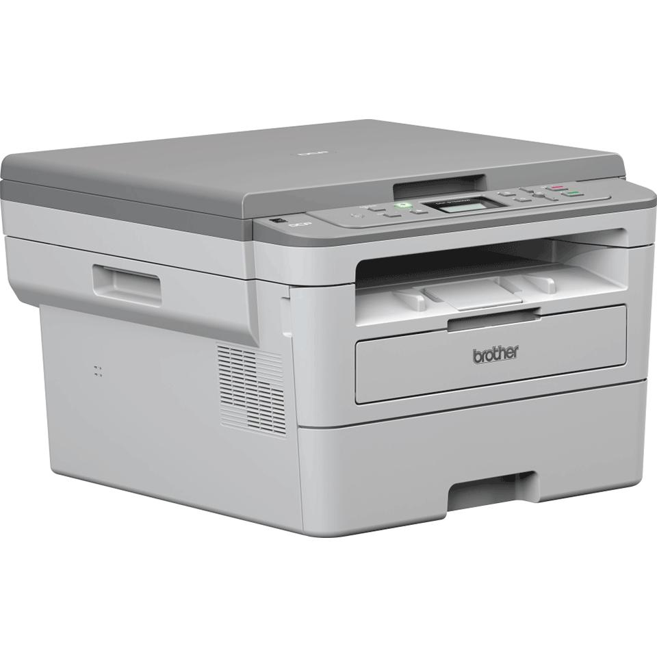 DCP-B7520DW kompaktní drátová & bezdrátová 3-v-1 tonerbenefit mono laserová tiskárna 3