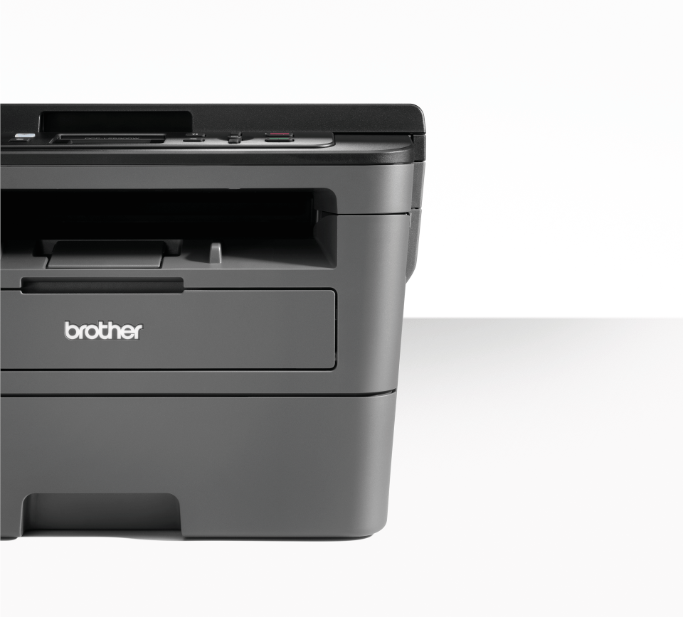 Compact Wireless 3-in-1 Mono Laser Printer - Brother DCP-L2530DW 3