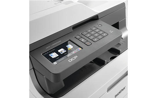 DCP-L3550CDW All-in-one draadloze kleurenledprinter 4