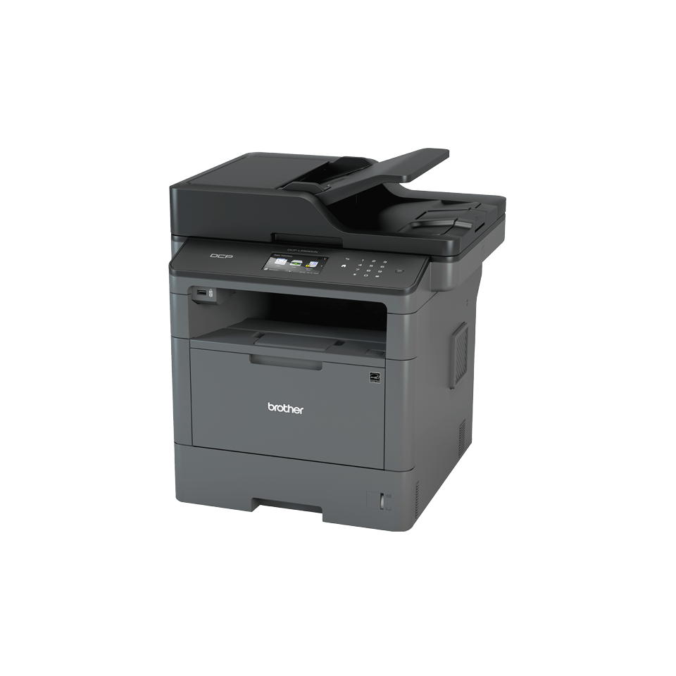 DCP-L5500DN - All in One Mono Laser Printer 2