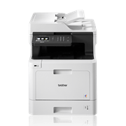 DCPL8410CDW multifunction print, copy and scan colour laser printer with BLI recommended, IF Design award, Pantone logo