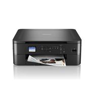 DCP-J1050DW-tulostin ja värillinen asiakirja