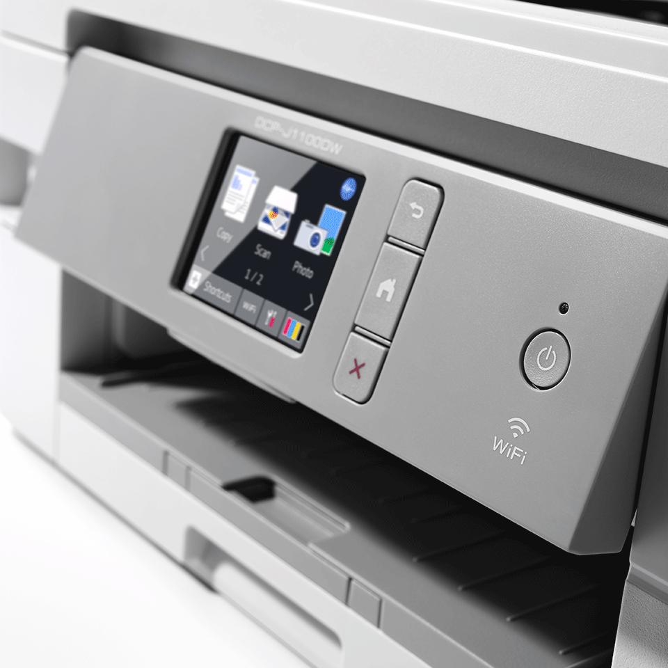 DCP-J1100DW Imprimante jet d'encre couleur multifonction 3-en-1 - All In Box 5