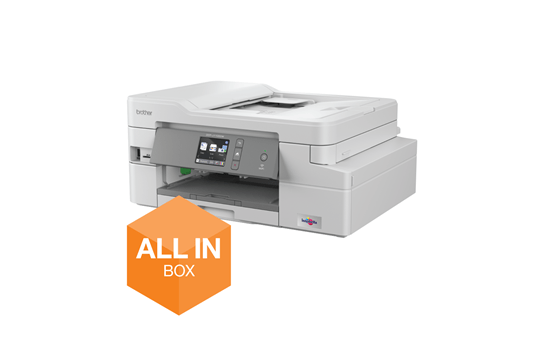 DCP-J1100DW All In Box Bundle. Wireless 3-in-1 Colour Inkjet Printer