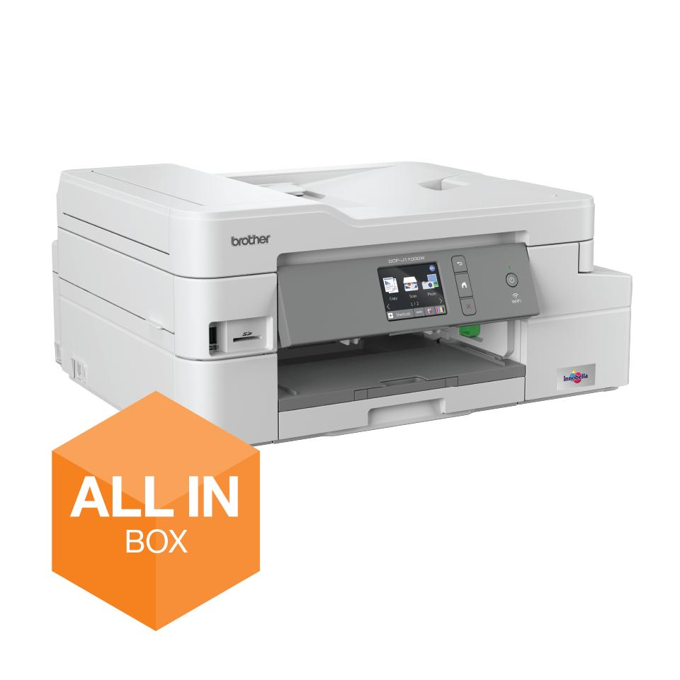 Draadloze inkjetprinter DCP-J1100DW All-In-Box bundel 4