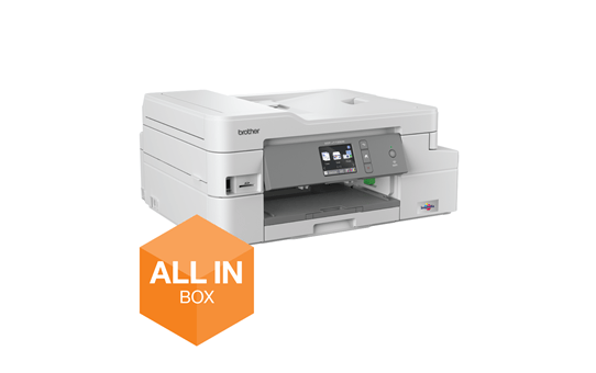 DCP-J1100DW All In Box Bundle. Wireless 3-in-1 Colour Inkjet Printer  2