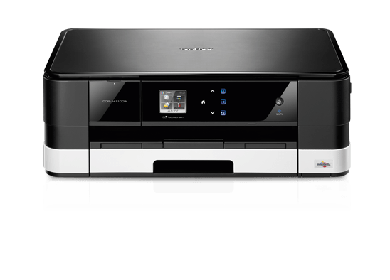 DCP-J4110DW All-in-One Inkjet Printer + Duplex and Wireless 6