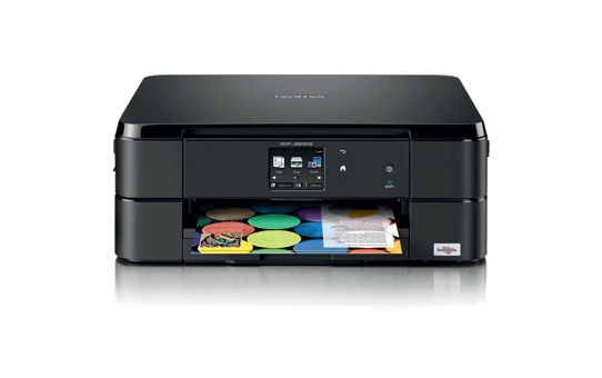 DCP-J562DW Compact A4 Inkjet Printer 2
