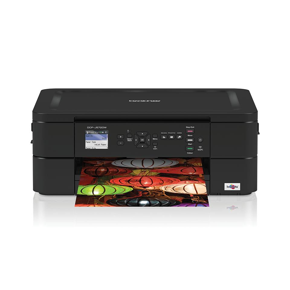 DCP-J572DW Wireless 3-in-1 Inkjet Printer