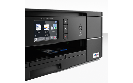 DCP-J772DW petite imprimante jet d'encre couleur 3-en-1 avec wifi 4