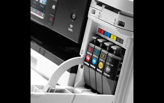 Wireless 3-in-1 colour inkjet printer DCP-J774DW 4