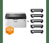 HL-1210W All in Box Bundle - Wireless mono laser printer