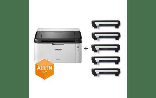 HL-1210WVB - trådløs s/h-laserprinter, All In Box 6