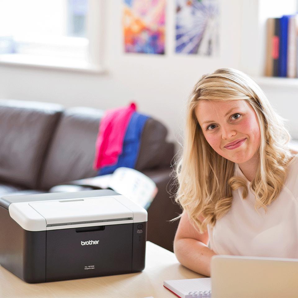 HL-1212W All in Box - Wireless mono laser printer 4