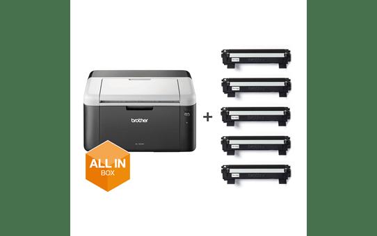 HL-1212W All in Box zwart-wit wifi laserprinter + 5 toners 6
