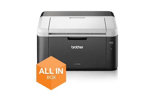 Draadloze zwart-witlaserprinter HL-1212W All-in-Box bundel 8