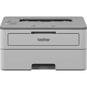 Brother mono laser printer HLB2080DW facing forward