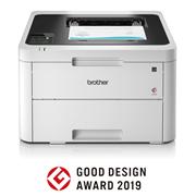 HL-L3230CDW laser printer with good design logo