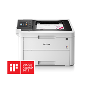 HL-L3270CDW with iF design award logo 2019