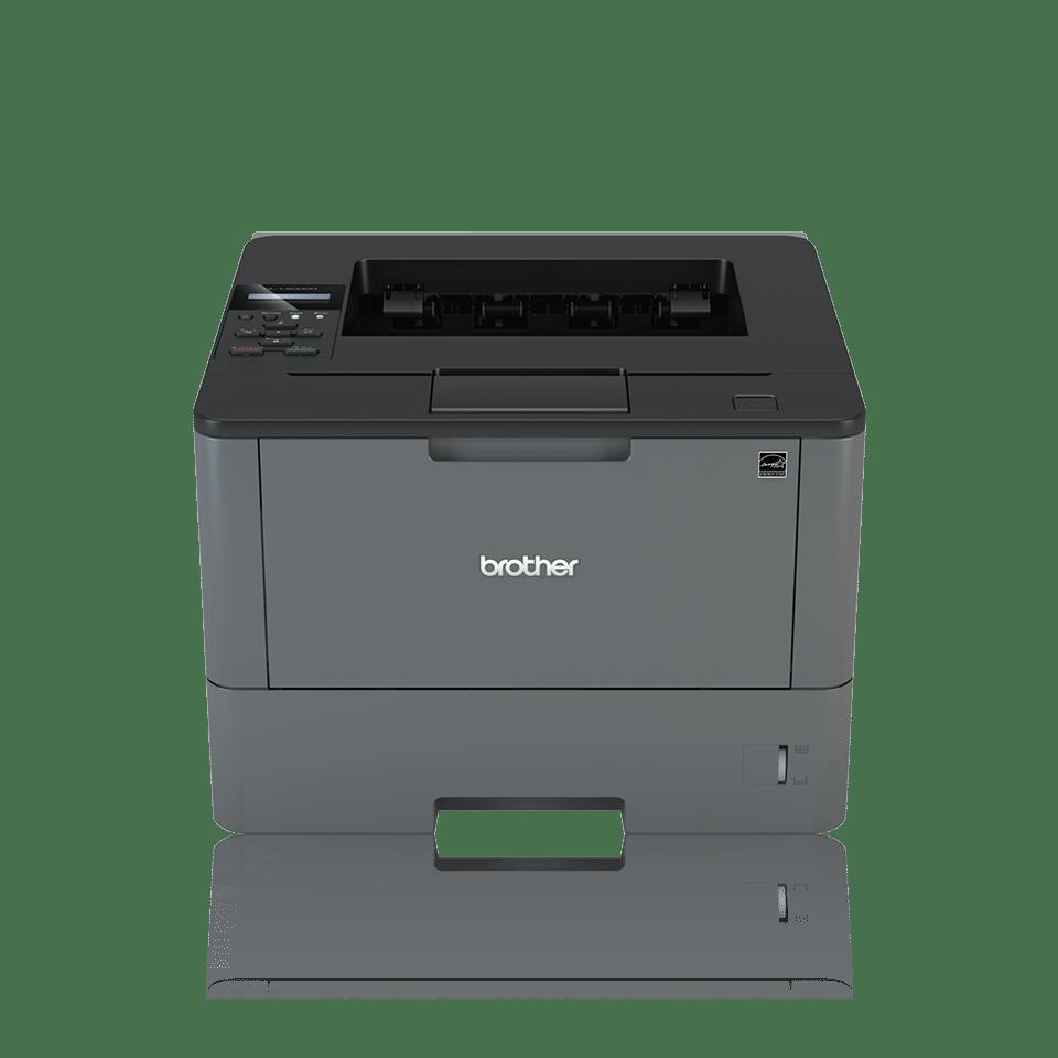 Brother HLL5000D sort-hvitt laserskriver med BLI Award logo