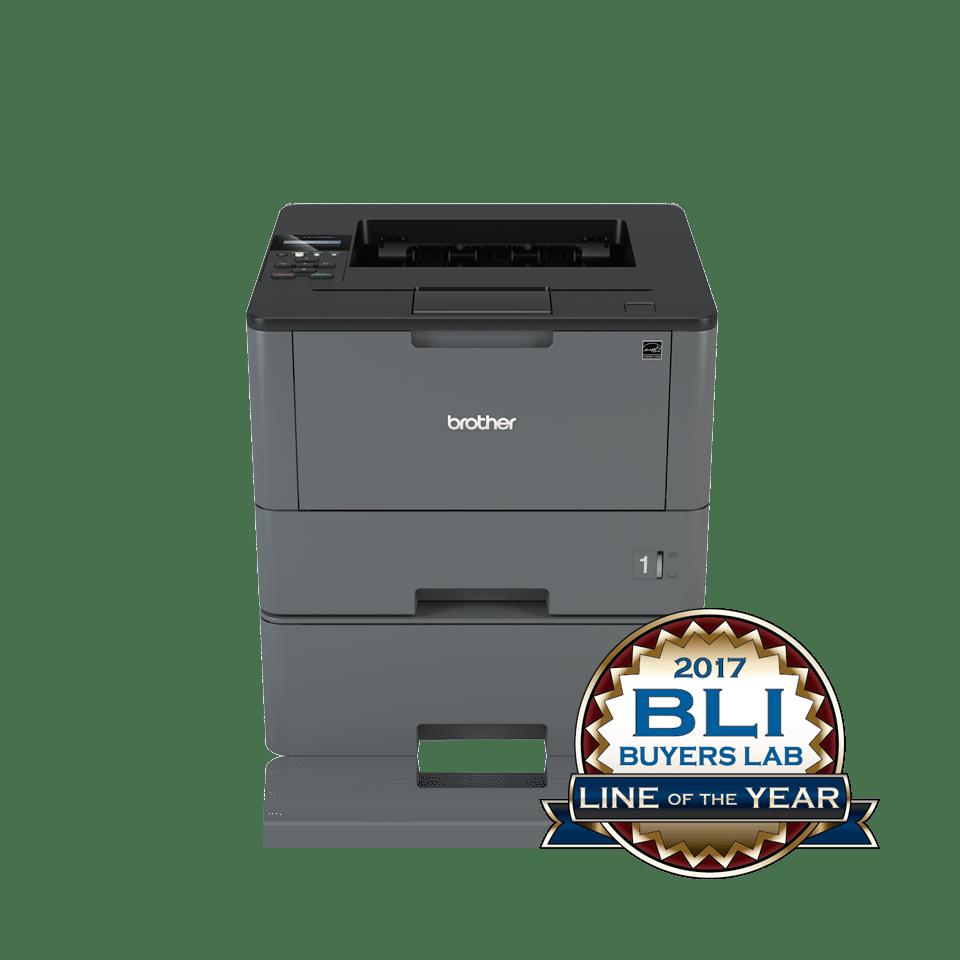 Brother HLL5100DNT sort-hvitt laserskriver med BLI Award logo