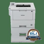 Brother HLL6300DWT sort-hvitt laserskriver med BLI Award logo