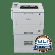 Brother HLL6400DWT sort-hvitt laserskriver front