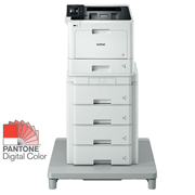 Brother HLL8360CDW laserskriver med Tower Tray front