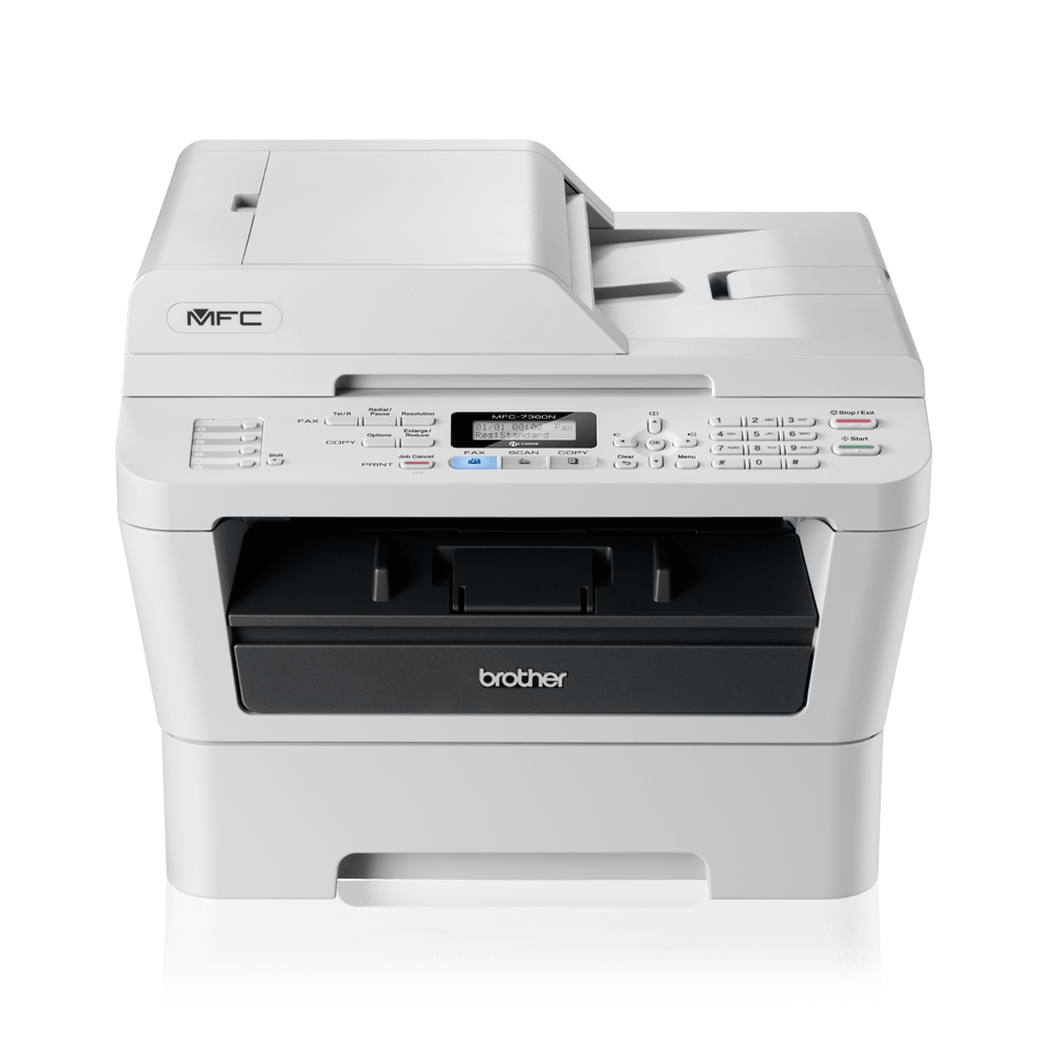 MFC-7360N Mono Laser All-in-One + Fax, Network 2