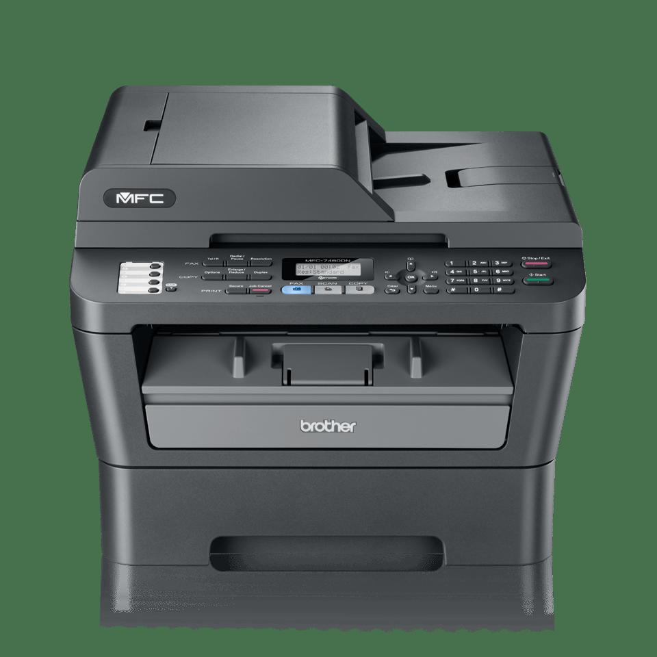 MFC-7460DN Mono Laser All-in-One + Duplex, Fax, Network 2