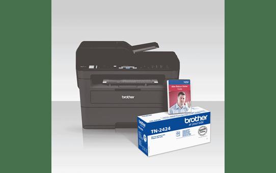 MFC-L2710DW Pack All In Box Imprimante multifonction 4-en-1 laser monochrome WiFi