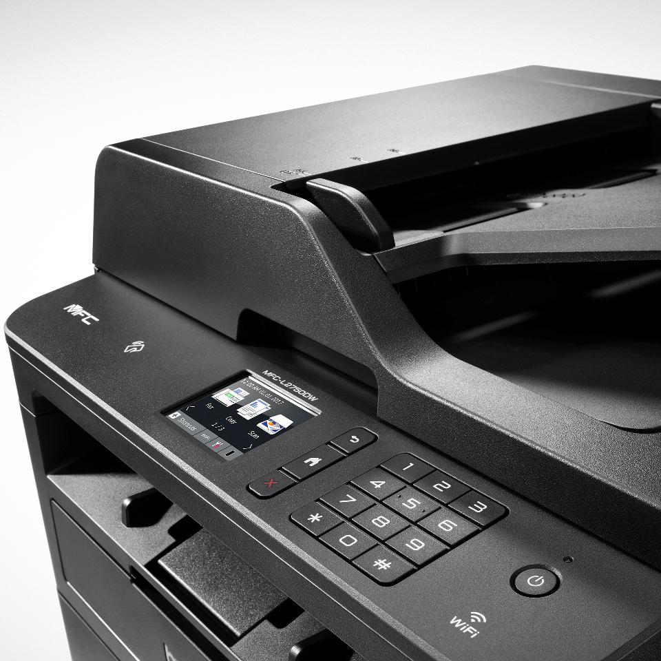 MFC-L2750DW imprimante laser multifonctions wifi noir et blanc 4
