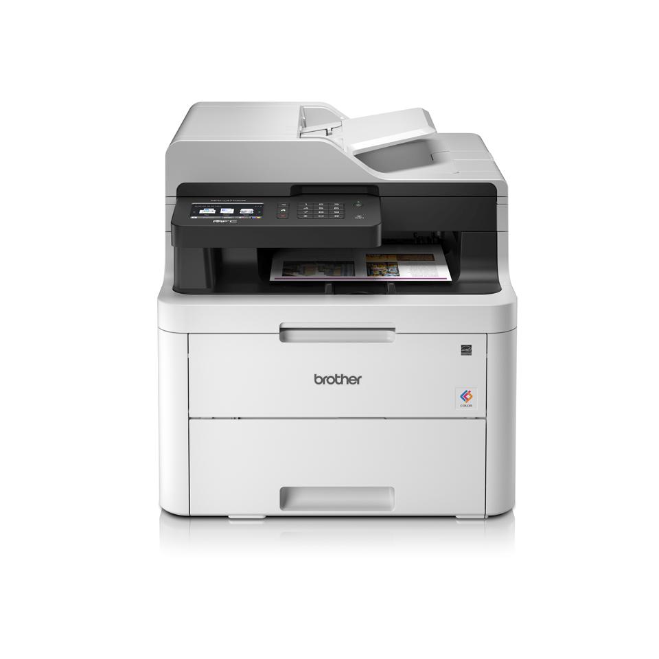 Impresora multifunción láser LED color MFCL3710CW, Brother
