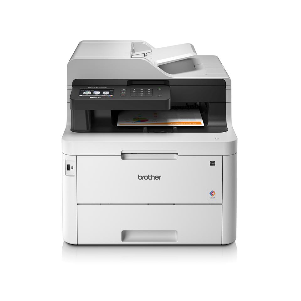 Impresoras multifunción láser LED color MFCL3770CDW, Brother