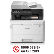 tlačiareň Brother MFC-L3770CDW s logom GOOD DESIGN AWARDS 2019