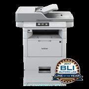 Brother MFCL6800DW multifunksjon sort-hvitt laserskriver front