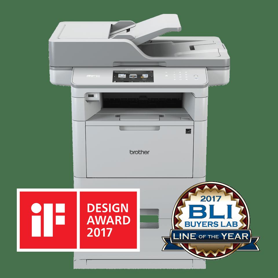 MFC-L6900DW Wireless Mono Laser Printer 3