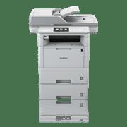 Brother MFCL6900DW multifunksjon sort-hvitt laserskriver med BLI Award logo front