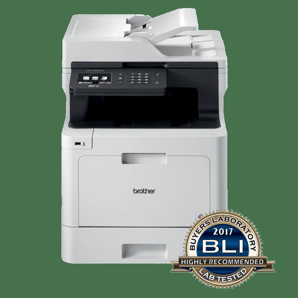 Impressora multifunções laser monocromático MFC-L8690CDW, Brother