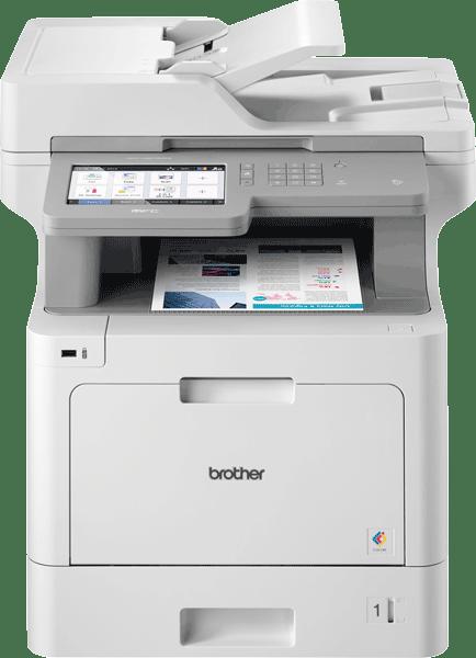 Brother MFC-L9570CDW profesjonell multifunksjon farge laserskriver med allsidig papirhåndtering 8