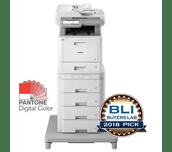 MFC-L9570CDWMT Profesionāla krāsu druka, abpusējas drukas funkcija, Wi-Fi, daudzfunkciju lāzerdrukas printeris + torņveida papīra padeve + torņveida papīra padeves savienotājs