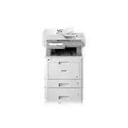 MFC-L9570CDWT SMB multifunction colour laser with additional paper tray, BLI logo, Pantone logo