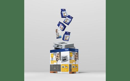 MFC-J1300DW - trådløs alt-i-én-inkjetprinter med fax, All In Box-pakke 4