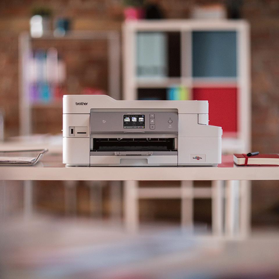 """Belaidis """"4-in-1"""" spalvotas rašalinis spausdintuvas MFC-J1300DW """"Viskas dėžėje"""" rinkinys 3"""