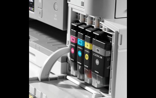 MFC-J1300DW All in Box kleuren inkjet all-in-one printer + 4 inktpatronen 5