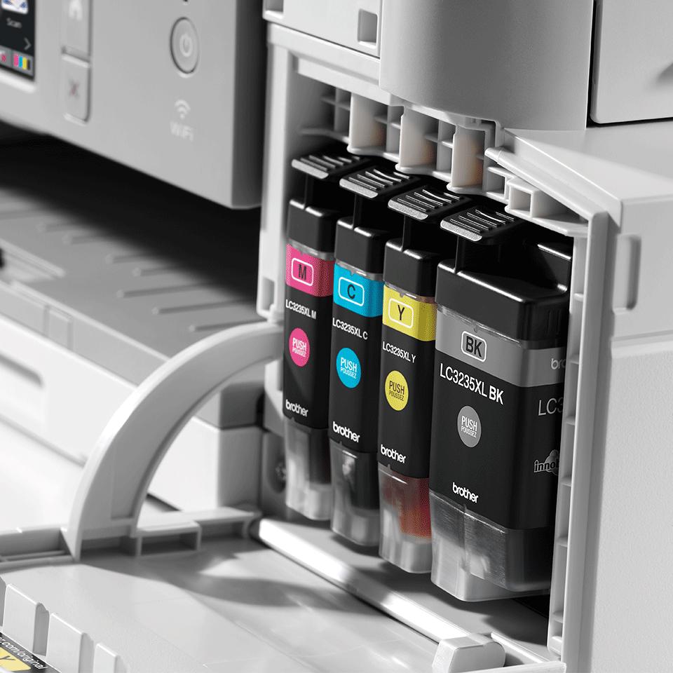 """Belaidis """"4-in-1"""" spalvotas rašalinis spausdintuvas MFC-J1300DW """"Viskas dėžėje"""" rinkinys 5"""