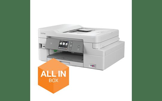 MFC-J1300DW All in Box kleuren inkjet all-in-one printer + 4 inktpatronen