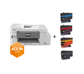 MFC-J1300DW All-in-Box bundel Draadloze inkjetprinter
