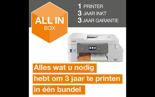 MFC-J1300DW All-in-Box bundel Draadloze inkjetprinter 3