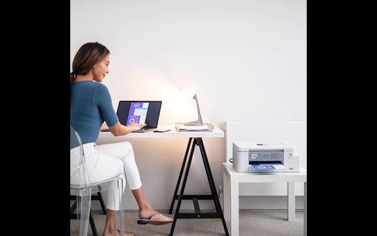 MFC-J4335DWXL - Imprimante jet d'encre multifonction couleur 4-en-1 All in Box pour le travail à domicile 4